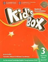 Робочий зошит kid's Box Updated 2nd Edition 3 Activity book + Online Resources