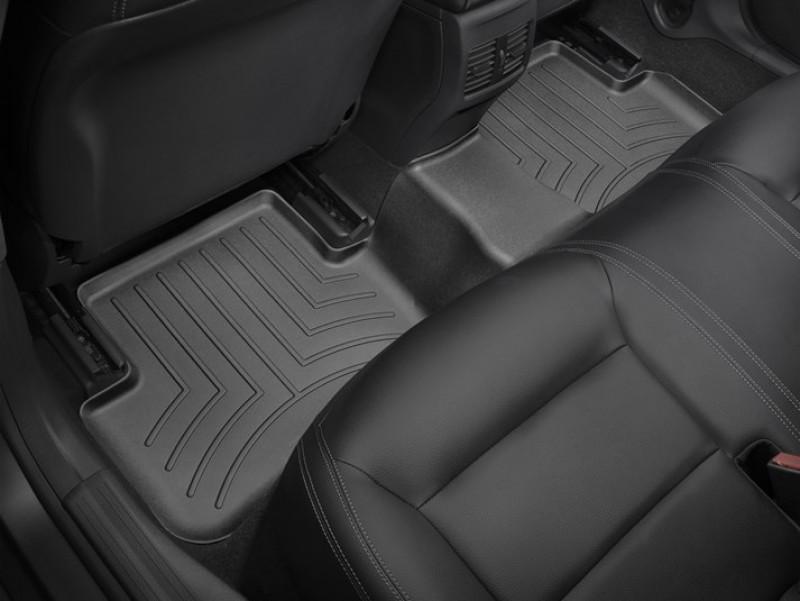 Ковры резиновые WeatherTech Mercedes A Class 2013-2018  задний черный