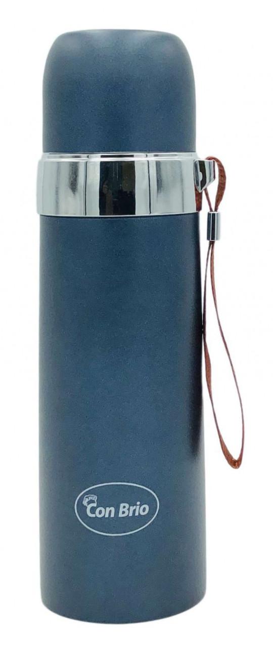 Термос Con Brio CB-382 500 мл Синій/ Сріблястий