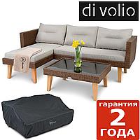 Комплект меблів для саду Imola - Коричневий