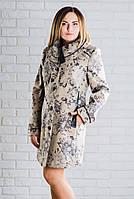 Пальто женское модное в размерах 50-58, 027/1