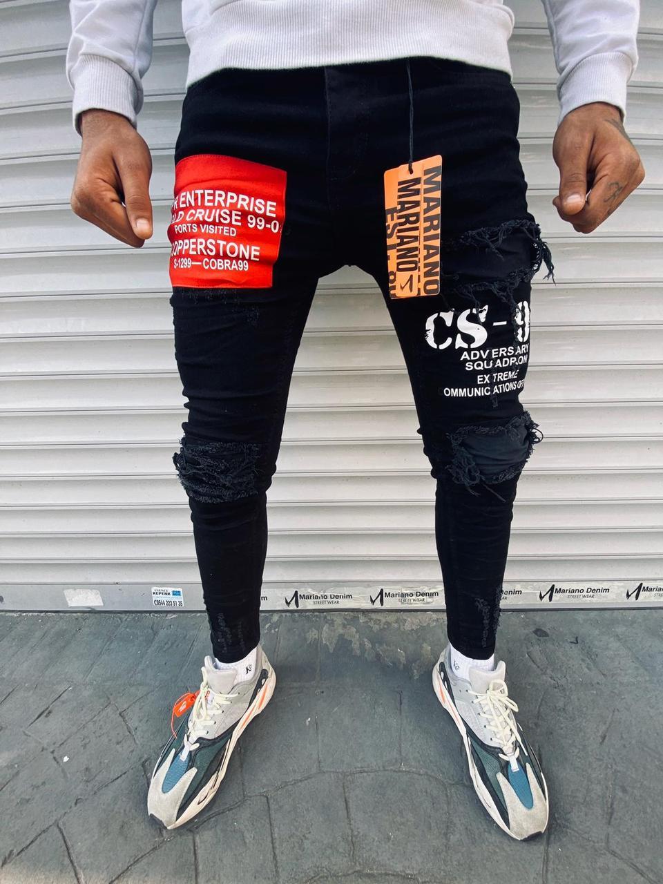 Мужские джинсы Mariano 1095 black
