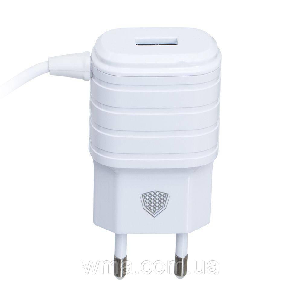 Сетевое зарядное устройство usb (Для телефонов и планшетов) Inkax CD-09 Micro Цвет Белый