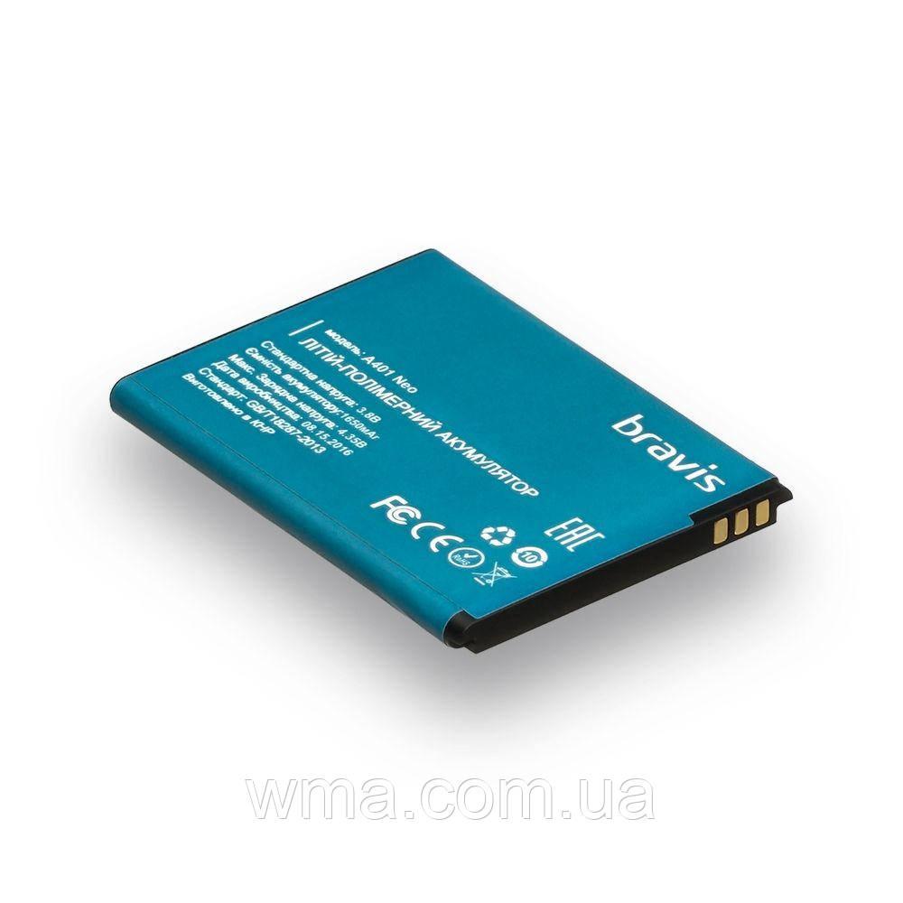 Аккумулятор для телефона  Bravis A401 Neo / A401 Neo Характеристики AAAA