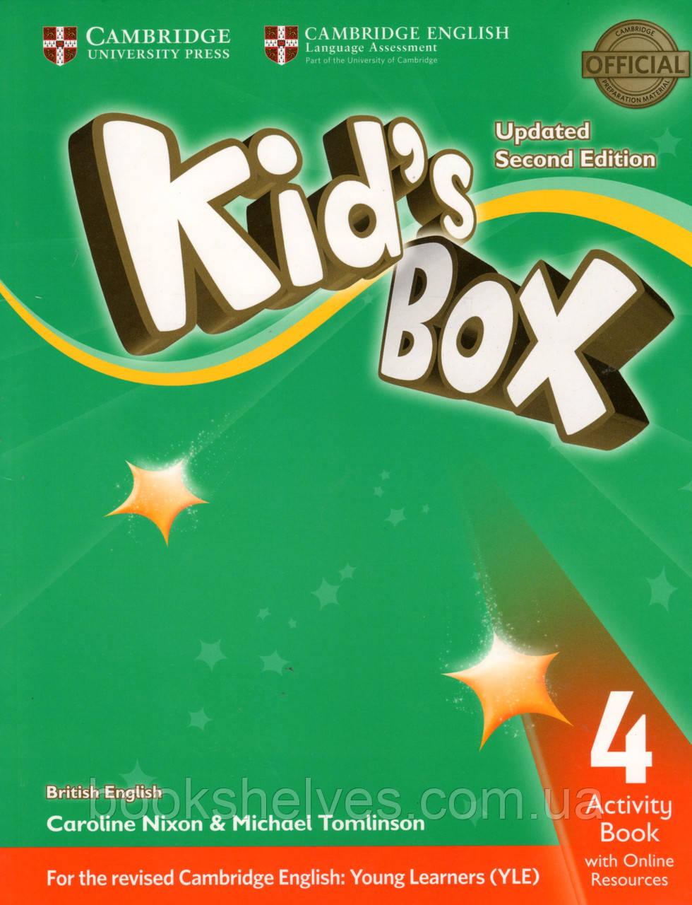 Робочий зошит kid's Box Updated 2nd Edition 4 Activity book + Online Resources