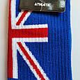 Шкарпетки високі з принтом Прапор Британії розмір 36-42, фото 3