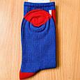 Шкарпетки високі з принтом Прапор Британії розмір 36-42, фото 2