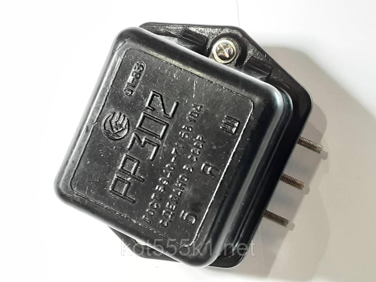 Электронное реле напряжения 6в РР-302