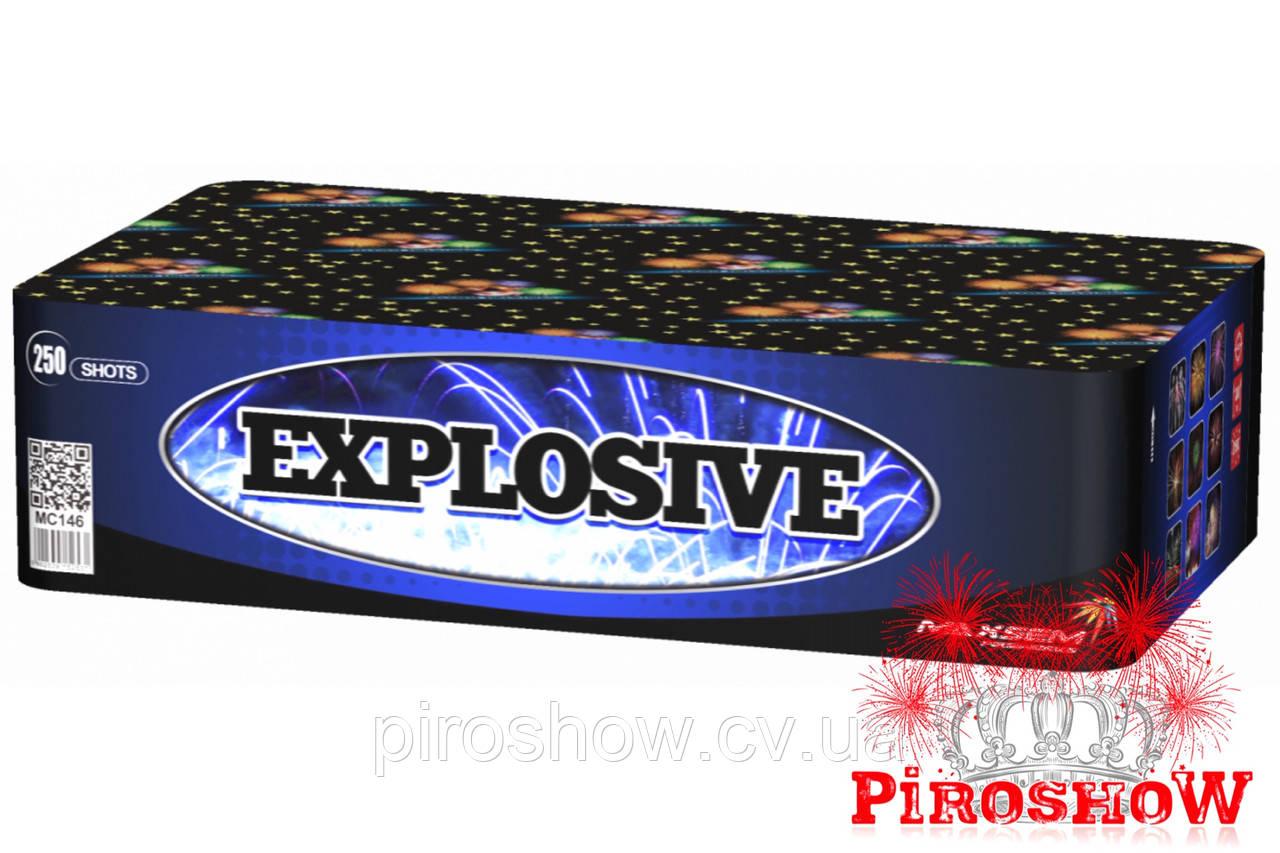 Салютная установка EXPLOSIVE 250 выстрелов 20 калибр   Фейерверк MC146 Maxsem