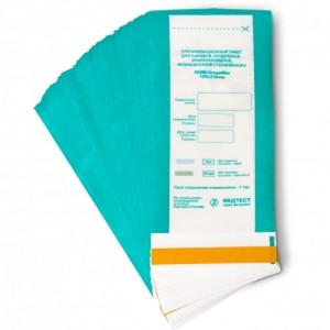 Пакеты для стерилизации комбинированные 60х100 Медтест, для паровой, воздушной, этиленоксидной 100 шт