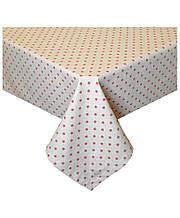 Скатертина на стіл Глорія горох 110*134 см