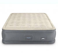 Двухспальная надувная кровать Intex 64926 (152х203х46 см) встроенный электронасос  KK