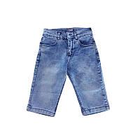 Капри для мальчика джинсовые 128-152 (8-12 лет) арт.66041