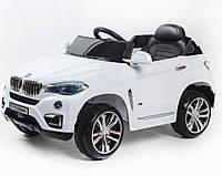 Электромобиль T-788 EVA WHITE джип на р.у. 2*6V4.5AH мотор 2*25W с MP3 103*65*42