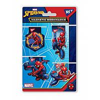 Закладки магнитные YES «Marvel», высечка, 4шт