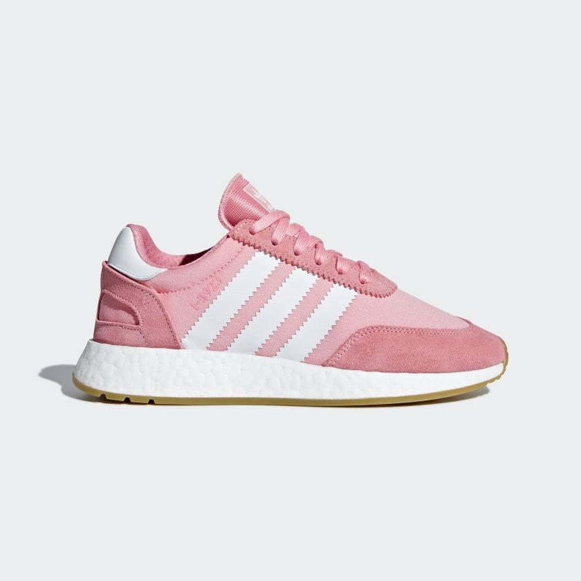 Кроссовки женские оригинальные Adidas I-5923 розовые