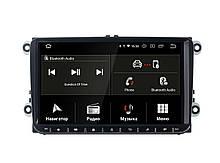 "Volkswagen Universal Incar Android 9 экран 9"" штатная магнитола на фольксваген на фольц"