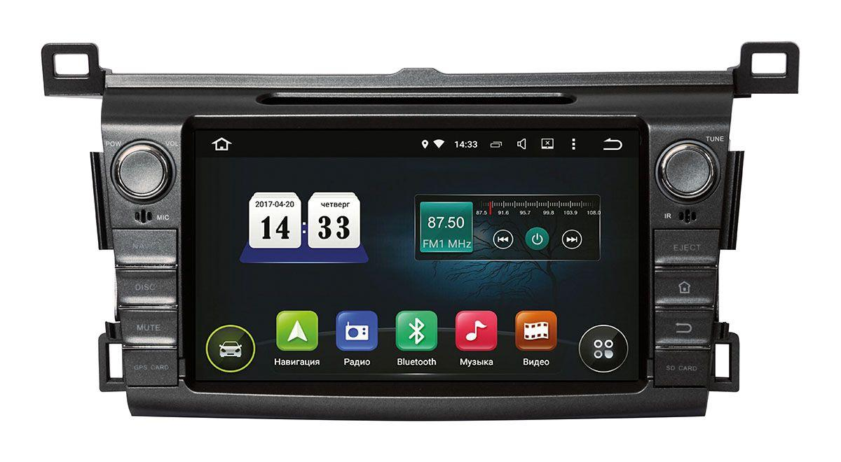 Toyota RAV-4 2013+ Incar Android 8. штатная магнитола на тойота на тойоту рав 4