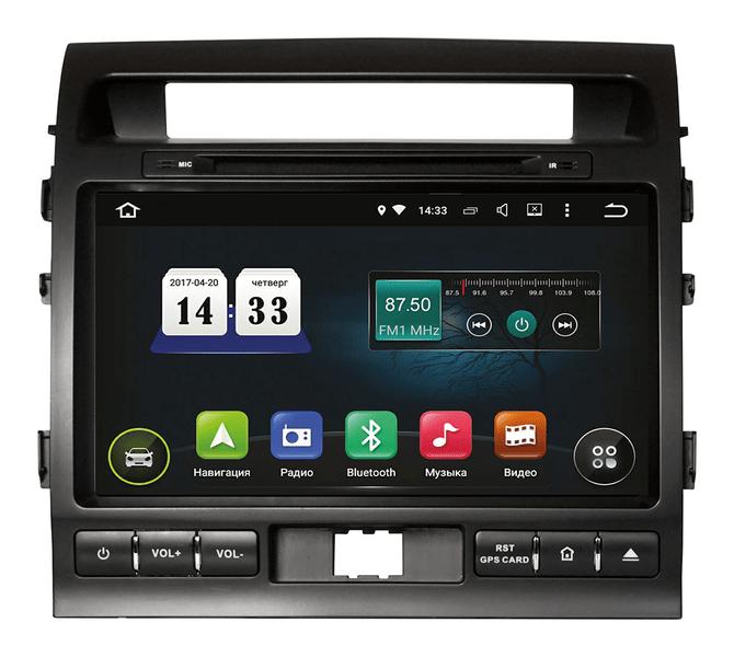 Toyota LC 200 2012+ Incar Android 5.1. штатная магнитола на тойота на тойоту лс 200
