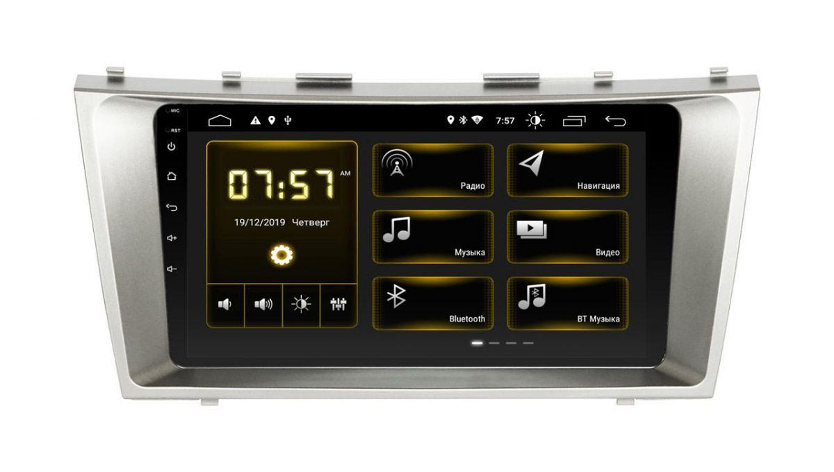 """Toyota Camry 40 XTA-2211 Incar Android 9 9"""" штатная магнитола на тойота на тойоту камри 40"""