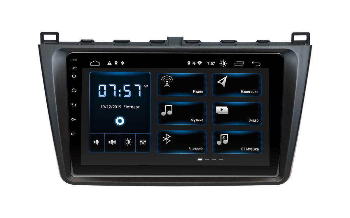 "Mazda 6 Incar Android 9 9"" DSP штатная магнитола на мазда на мазду 6"
