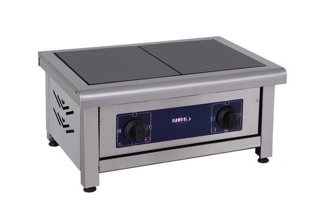 Фото плита электрическая настольная Кий-В ПЕ-2Н на 2 конфорки