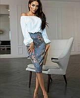 Блуза женская ОБЕ242, фото 1