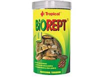 Корм для сухопутных черепах в виде палочек Biorept L TROPICAL