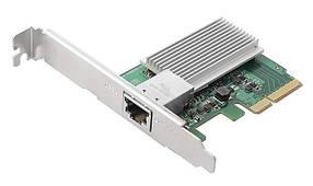 Сетевой адаптер Asus AS-T10G (1xRJ45 10G, PCI-E, с креплением low profile)