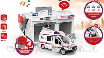 Паркинг CLM-556/7/8 (Ambulance)