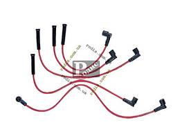 """Провод высоковольтный ВАЗ 2108-10 карбюратор комплект, суп/силикон """"TESLA"""""""