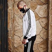 Олимпийка мужская Adidas х black-white  весенняя осенняя / кофта, фото 1
