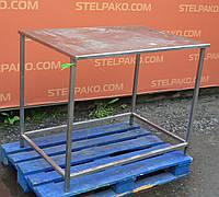 Производственный стол из нержавеющей стали 1050х750х900 мм., (Украина), Б/у, фото 1