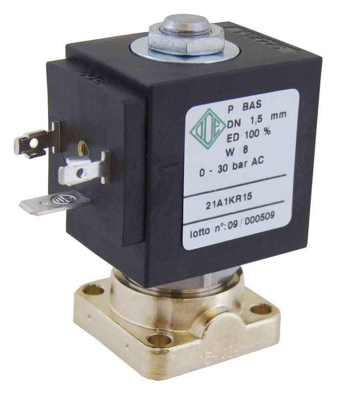 Электромагнитный клапан 21A1KV25, 2/2 ход. Нормально закрытый для воздушного компрессора