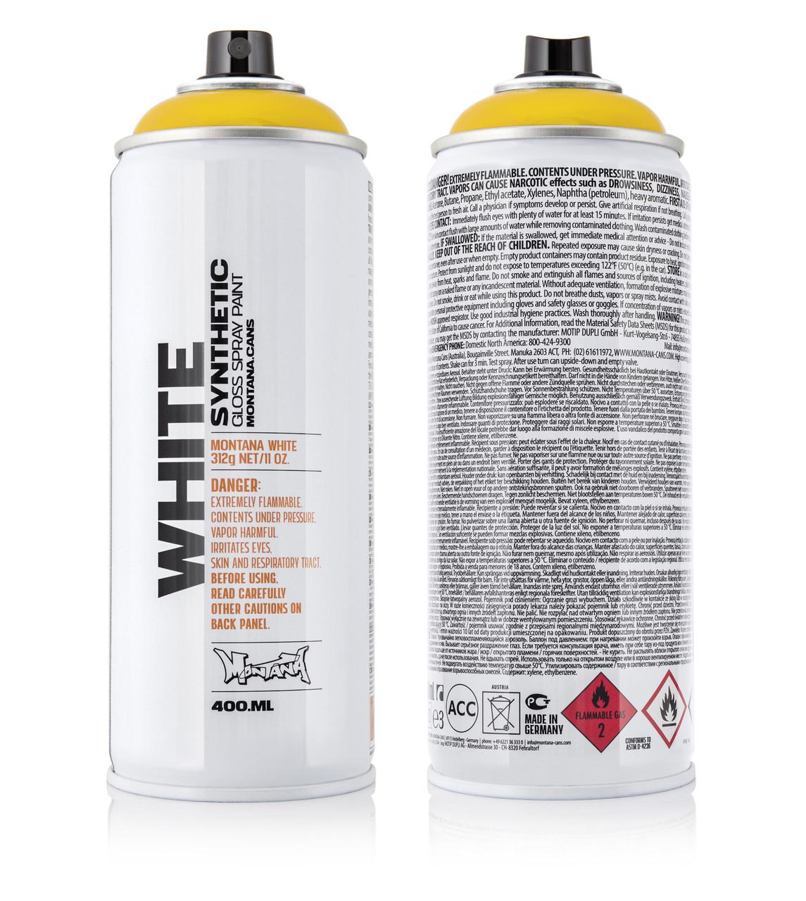Краска Montana WHT1020 Шафран 400 мл (Saffron) (280030)