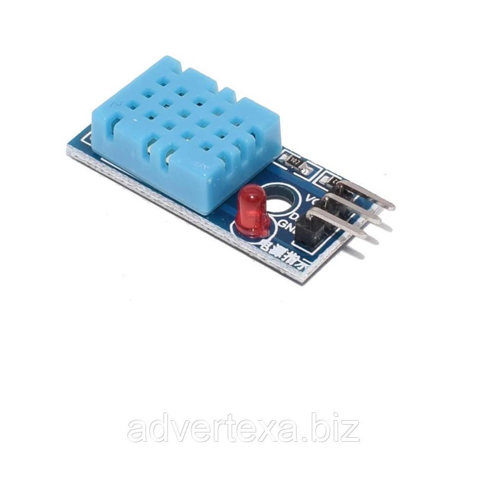 Модуль температури і вологості DHT11 для Arduino