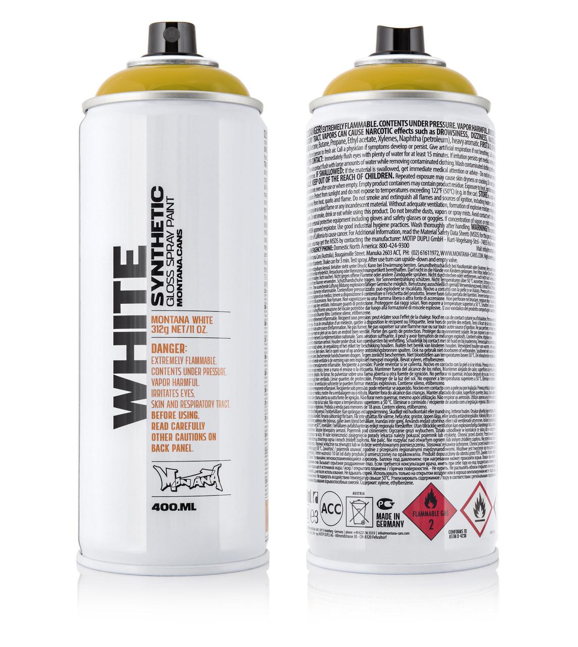 Краска Montana WHT1050 Охра 400 мл (Ochre) (280047)