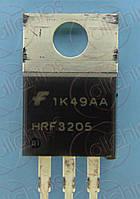 MOSFET N-канал 55В 100А 8мОм Fairchild HRF3205 TO220AB