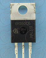 MOSFET N-канал 650В 23.8А Infineon IPP60R160C6 TO220