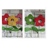 Заготовки для творчості із сизалю у вигляді квіточки, висота 40 см, 22 грн, фото 2