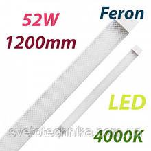 Светодиодный светильник Feron AL5020 52W 4000K IP40 1200mm на 2 полосы