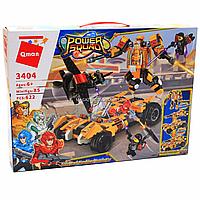 Конструктор Qman «Боевой робот-трансформер», 622 детали (3404)