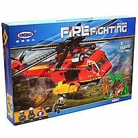Конструктор Xingbao «Военная техника», Пожарный вертолет, 761 деталь (XB-14004)