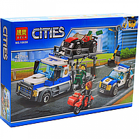 Конструктор «Cities» город Bela - Ограбление грузовика, 427 деталей (10658)