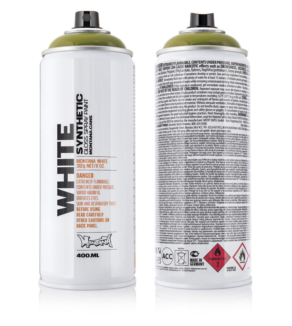 Краска Montana WHT1160 Дикий Вилли, 400 мл (Wild Willy) (280078)