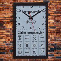 """Дизайнерские настенные часы """"АСТРОЛОГИЯ"""", индивидуальная работа."""