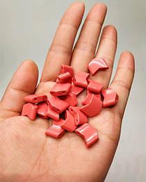 Звенья турманиевые для браслетов (М-23) Розовый