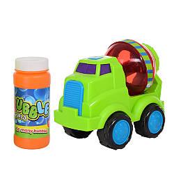 Детская мыльная игрушка машинка-Бетономешалка 012