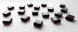 Звенья турманиевые для браслетов (М-22-12) Шоколадные