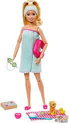 КуклаBarbieСпа и аксессуары Барби Spa оригинал от Mattel